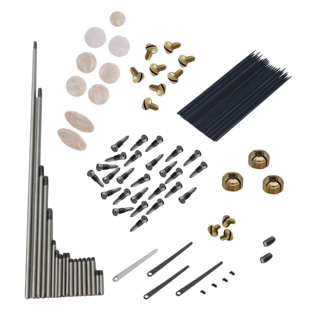 Dovewill Alto Sax Repair Kit Sax Saxophone Springs+Screws+Key Buttons for Beginners