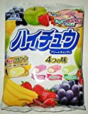 Authentic Japanese Morinaga Hi-Chew Assortment Bag 4 Fruit Flavors Grape Strawberry Green Apple Melon Made in Japan For Sale