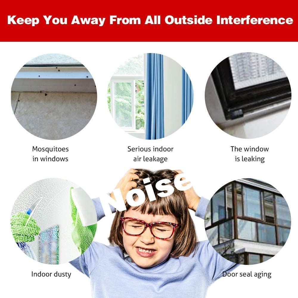 25mm, Transparent Zhixing Silicone Seal Strip,8M//26ft Weather Stripping Door Strip Bottom Adhesive for Doors and Windows Gaps