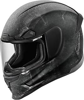 Icon Airframe Pro Construct - Casco de moto, color negro