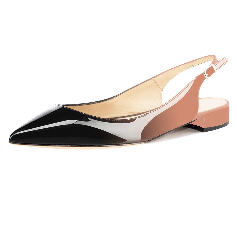 62cbea19b4f655 ... Eldof Women Low Heels Pumps