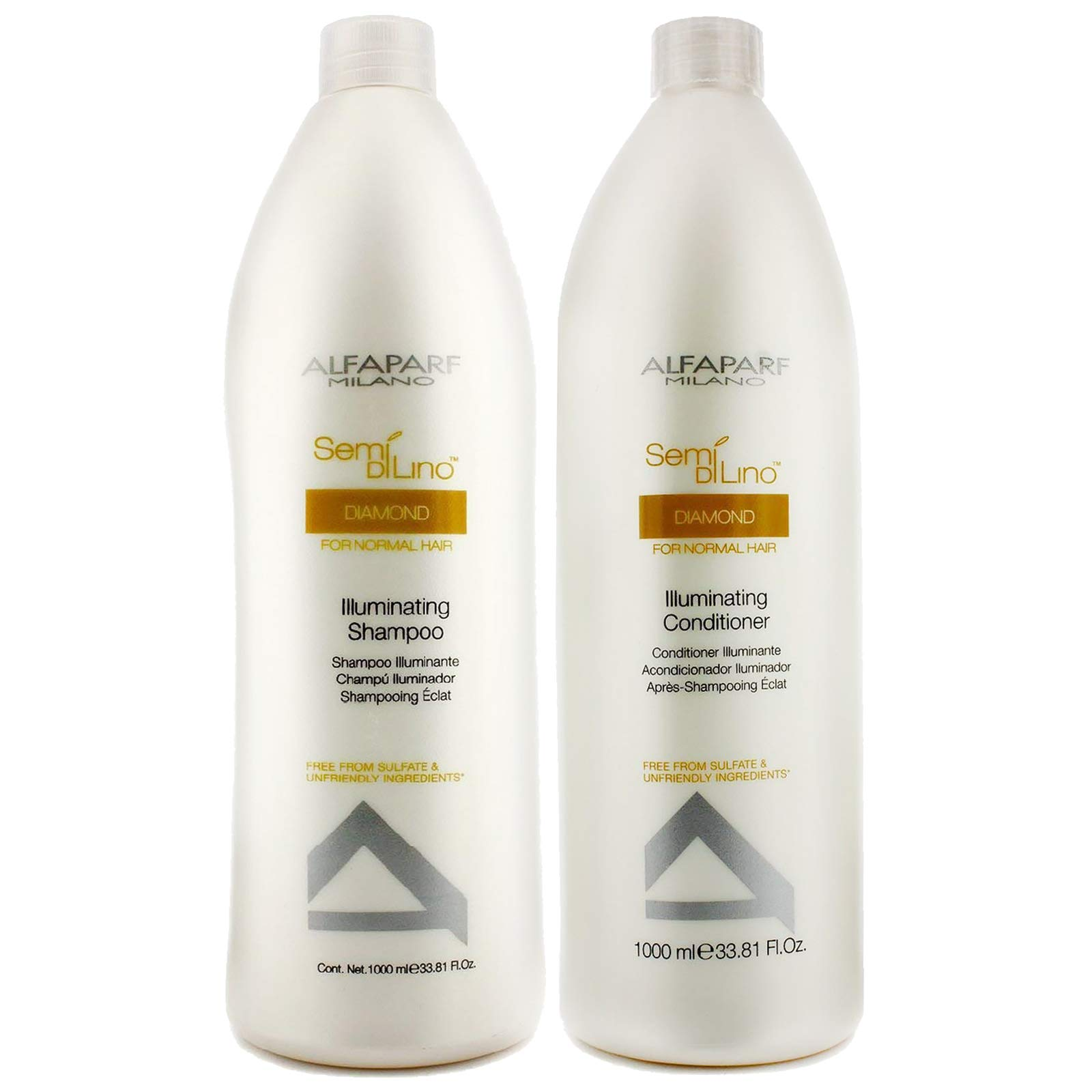 Amazon Alfaparf Semi Di Lino Illuminating Shampoo And