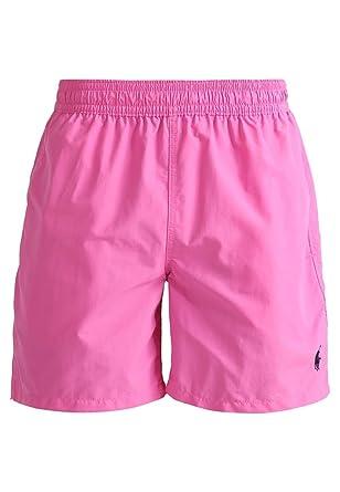 Polo Ralph Lauren Men\u0027s Hawaiian Swim Trunk (XL, Pink)