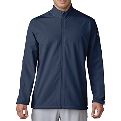 .com : adidas Golf Men's Adi Club Stretch Wind Jacket : Clothing
