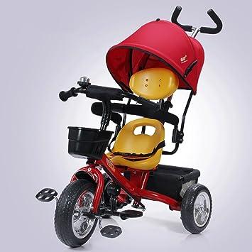 Fenfen Triciclos para niños Bicicletas Carritos para bebés 1-5 Bicicletas para niños Carritos para