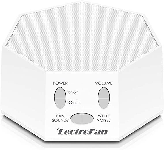 The white noise machine helps you rest and concentrate