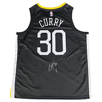 online retailer 94f29 ac2c3 Stephen Curry Signed Golden State Warriors Nike Dri-FIT ...