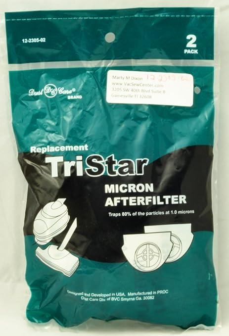 Tristar Aspirador Tristar secundario después del filtro Pack de 1 ...