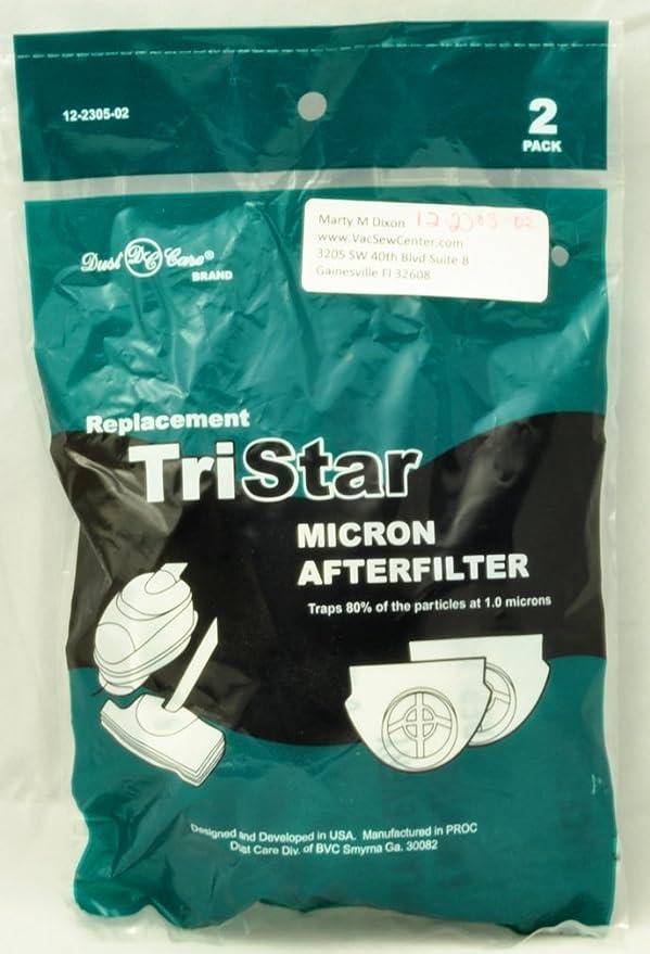 Tristar Aspirador Tristar secundario después del filtro Pack de 1 Blanco: Amazon.es: Hogar