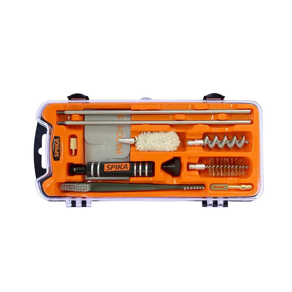SPIKA Compact Shotgun Cleaning Kit 12 Gauge,Airgun/Rifle Cleaning Kit,Pistol Cleaning Kit