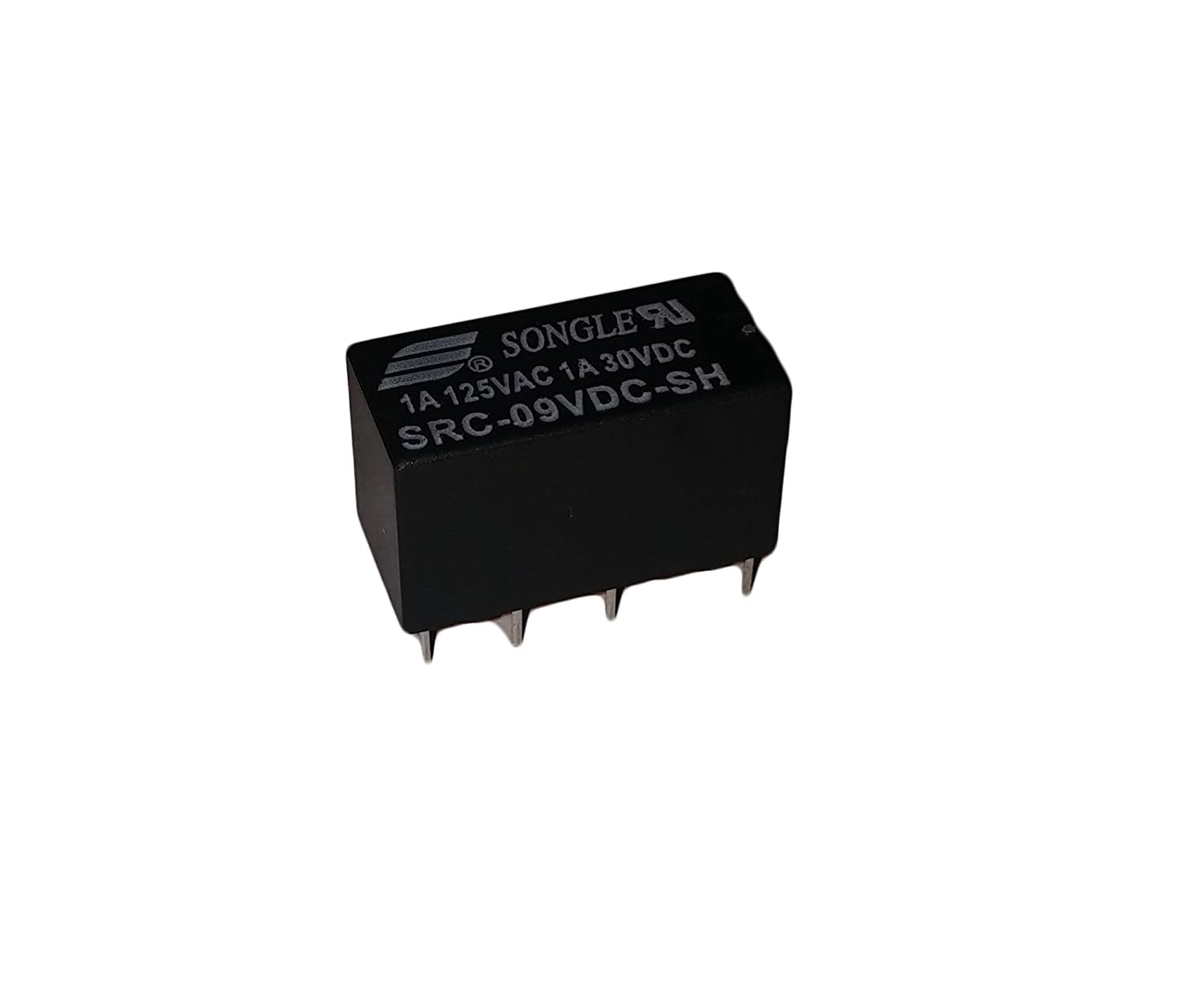 Protechtrader 9vdc 9 Volt Dc Relay Dpdt Pcb 8 Pin The Npn Can Be Just About Any General Purpose 2n2222 Bc337 Etc Mount Non Latching Polarized Electronic Low Signal High Sensitivity Module For