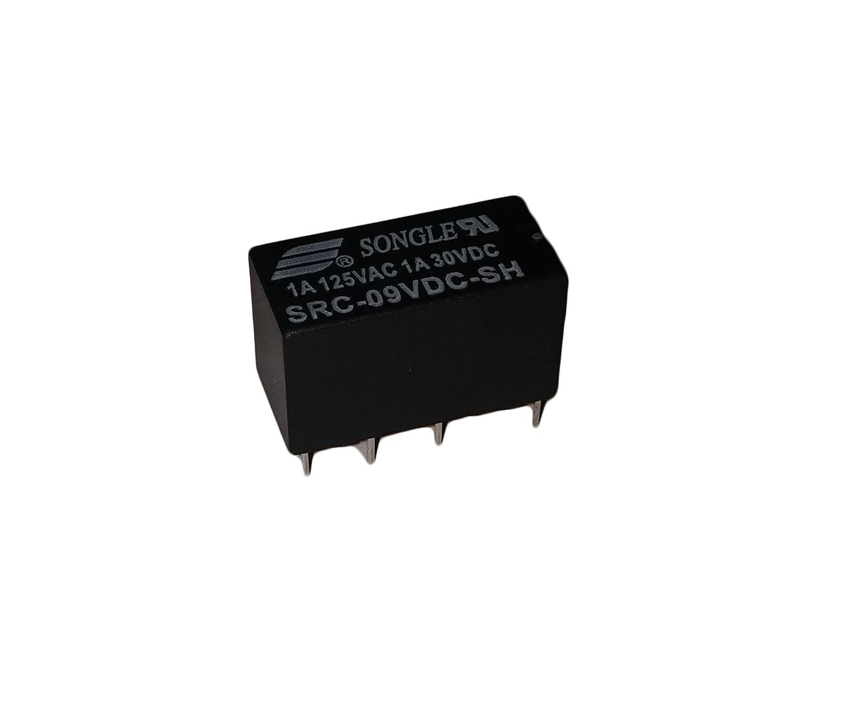 Protechtrader Relais/9/V CC Module de relais tr/ès sensible non-verrouillable non polaris/é faible niveau de signal /électronique pour bricolage /électronique et Arduino /carte Dpdt 8 broches/