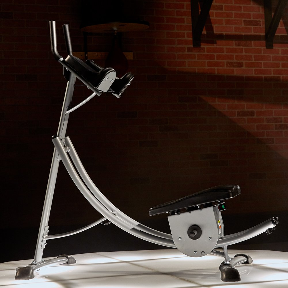 Abcoaster Max Deluxe with Weights- The Back & Neck Safe, Abdominal Fitness Machine by Ab Coaster (Image #5)
