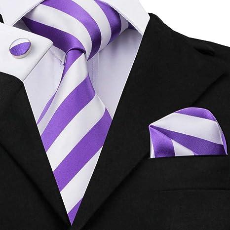 WOXHY Corbata de los Hombres St-339 Corbata para Hombre Jacquard ...