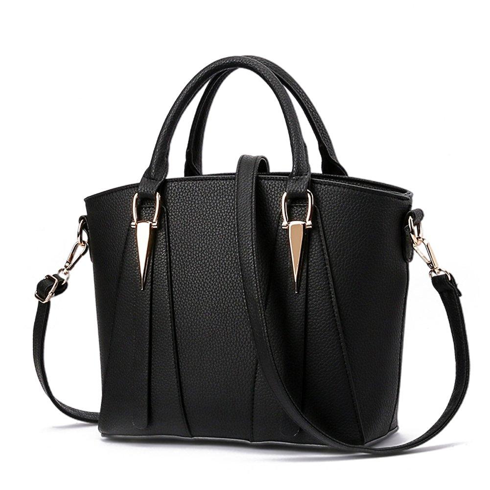 Black Woman's bag new bag sweet fashion handbag elegant classic handbag Messenger bag shoulder bag handbag