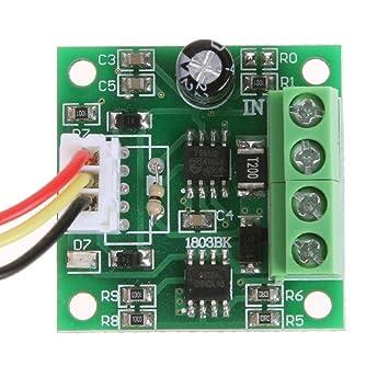 DC 1.8V 3V 5V 6V 12V 2A Automatic PWM Motor Speed Regulator Controller Module