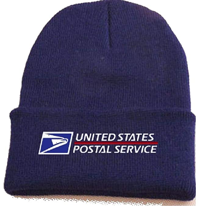 3ba76ae5bed USPS Postal Unisex Beanie Knit Ski Cap Hip Hop Winter Warm Wool Tam by PCA  Etc