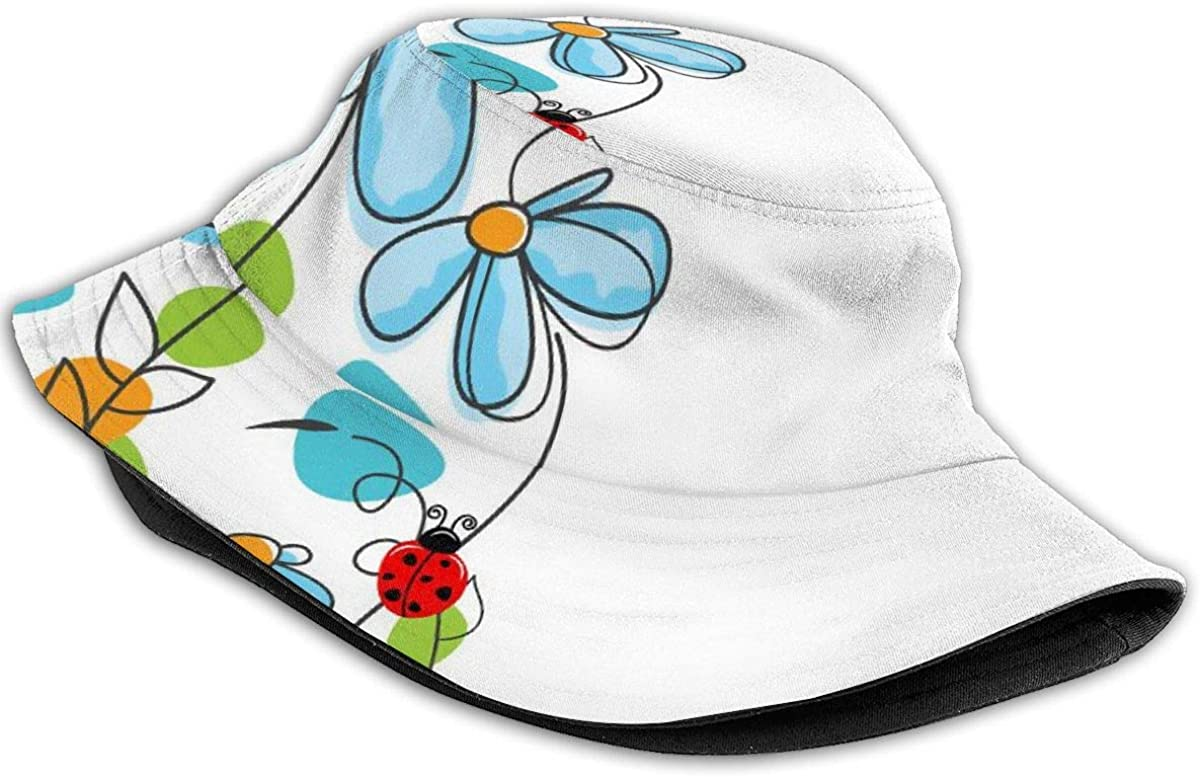 Low Profile Trucker Mesh Cap for Unisex Boys and Girls 100/% Polyester Fearfully and Wonderfully Flowers and Oval Mesh Cap