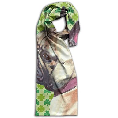 French Bulldog Oblong Thin Women Scarf Elegant For Head Scarf Unisex Shawl 511d2f2d1193e