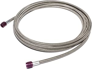 COMP Cams NS6569 Hose (16' -4AN STAINLESS STEEL BRAIDED)