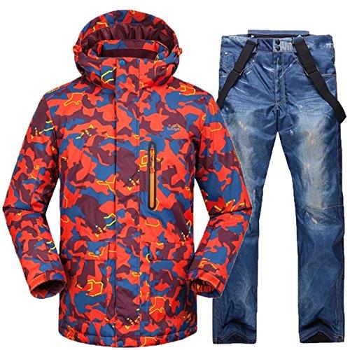 Per Inverno Termale Esterno Uomini Leit Gli Impermeabili 12 Yff Pantaloni Giacca Snowboard Tute tqPFzv