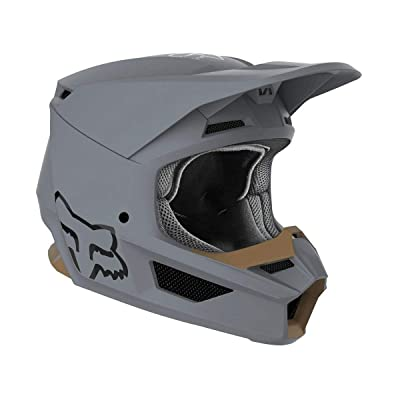 Fox Racing V1 Matte Helmet - (Small) (Stone): Fox Racing: Automotive [5Bkhe0810937]