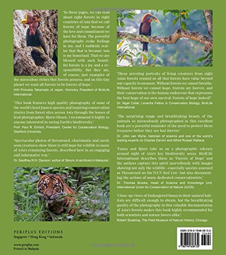 amazon com asia s wildlife a journey to the forests of hope proceeds support birdlife international 9780794608132 fanny lai bjorn olesen