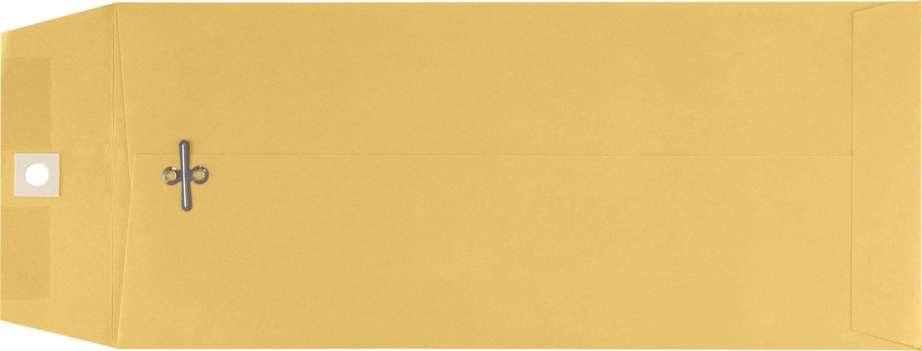 5'' x 11 1/2'' Open End Envelopes - 32lb. Brown Kraft (50 Qty.)