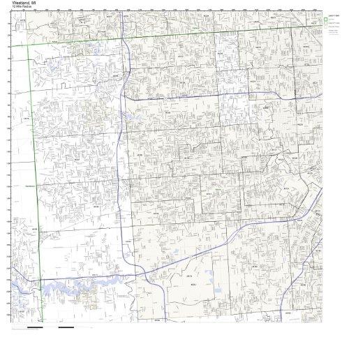 Westland, MI ZIP Code Map - Map Westland