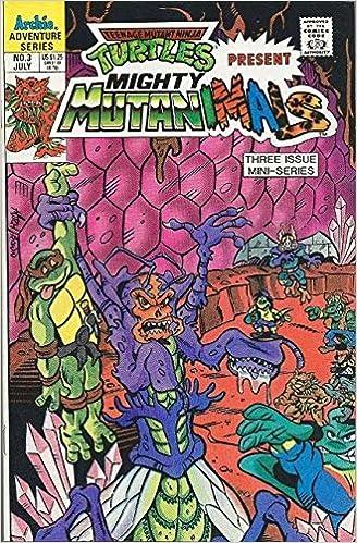 Teenage Mutant Ninja Turtles Present Mighty Mutanimals #3 ...