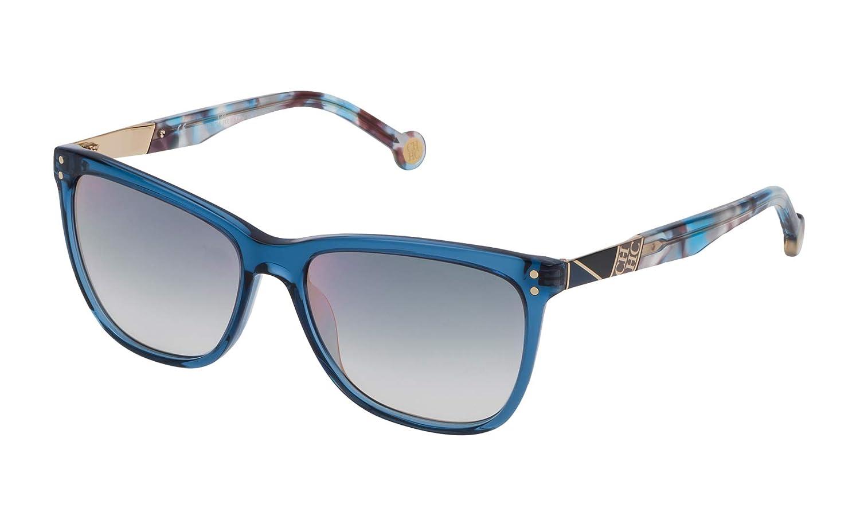 Carolina Herrera SHE7495506N1 Gafas de sol, Azul, 55 para ...