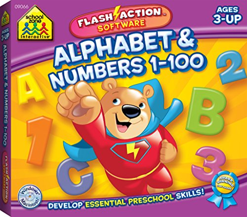 Alphabet & Numbers 1-100 Flash Action ()