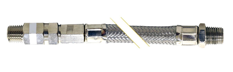Kleinn Air Horns 30102 Steel Braided Leader Hose with Check Valve