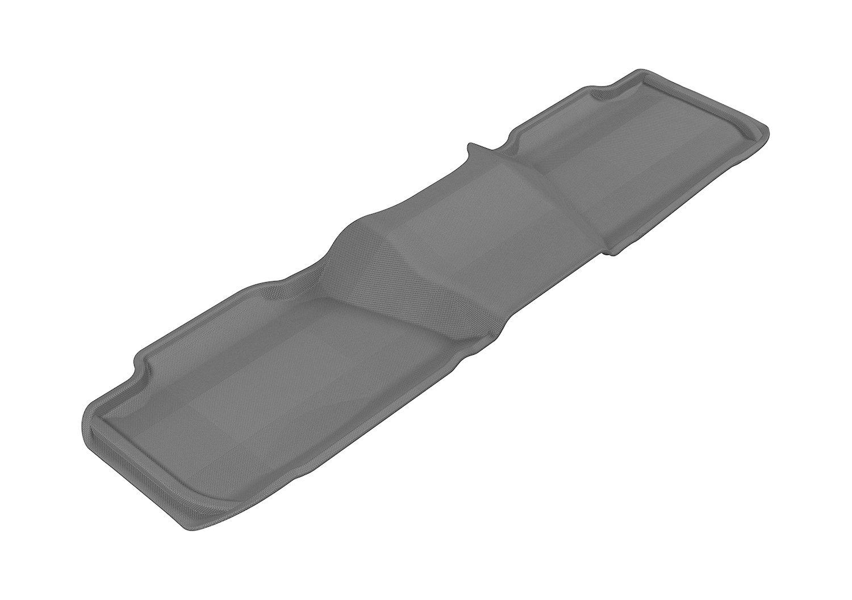 Kagu Rubber Tan 3D MAXpider Complete Set Custom Fit All-Weather Floor Mat for Select Chevrolet Suburban Models