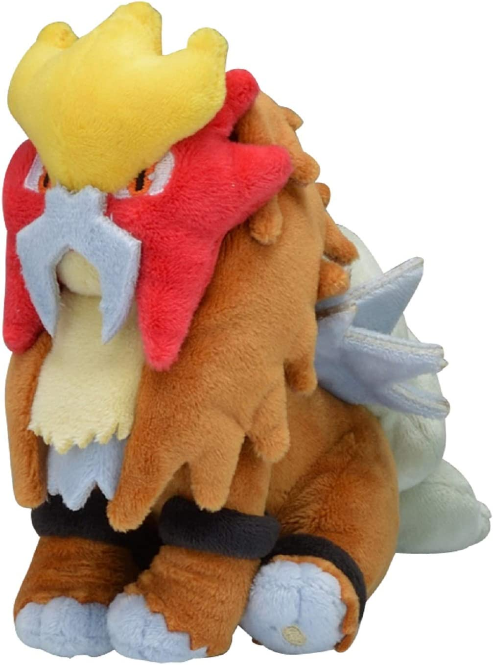 Sanei Pokemon All Star Series PP63 Entei Stuffed Plush  8/""