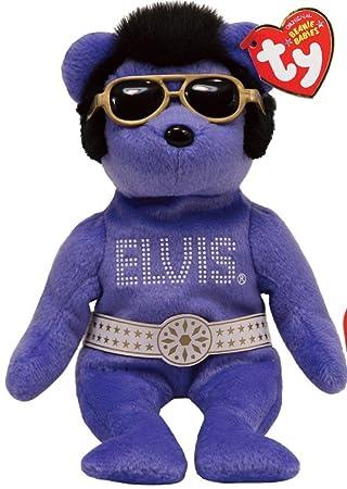 Ty Beanie Bear - Elvis Presley Series Beanies! Beanies! Beanies! The Bear  Rare  Amazon.co.uk  Toys   Games a7ea67f219a