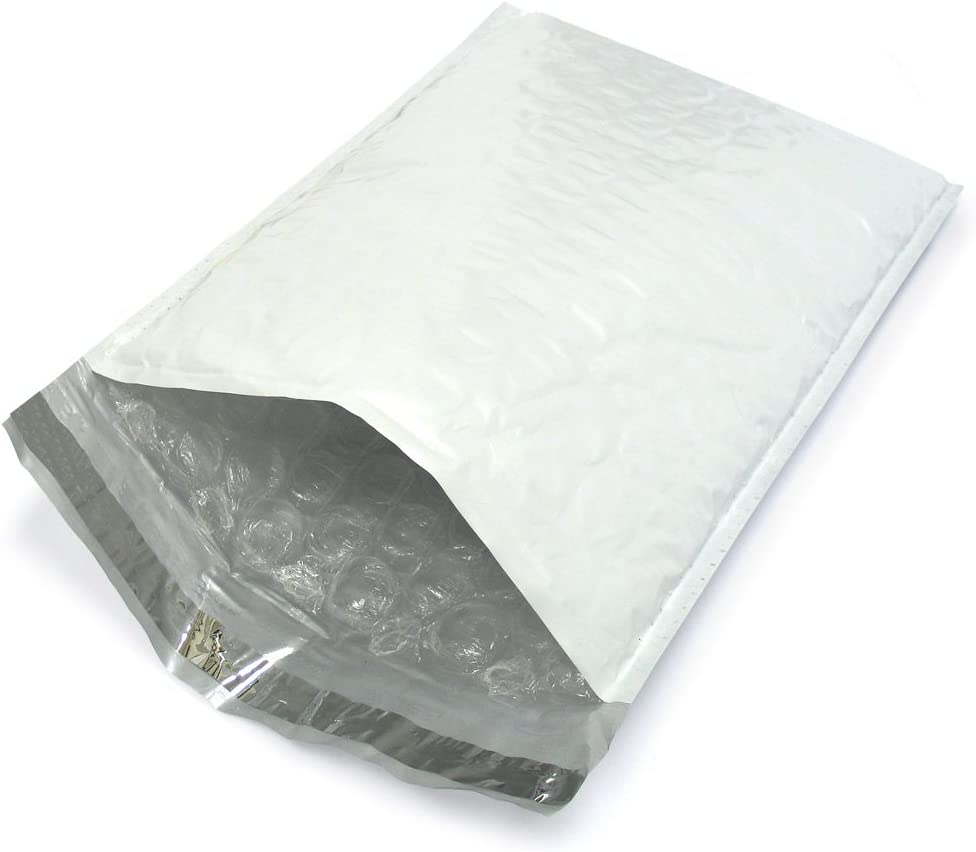 100x Poly Bubble Bag Mailer Plastic Padded Envelope Shipping Hot Bag J2M0