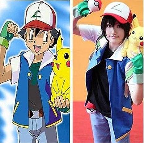 Pokemon Ash Ketchum para disfraz (envíenos un correo electrónico ...