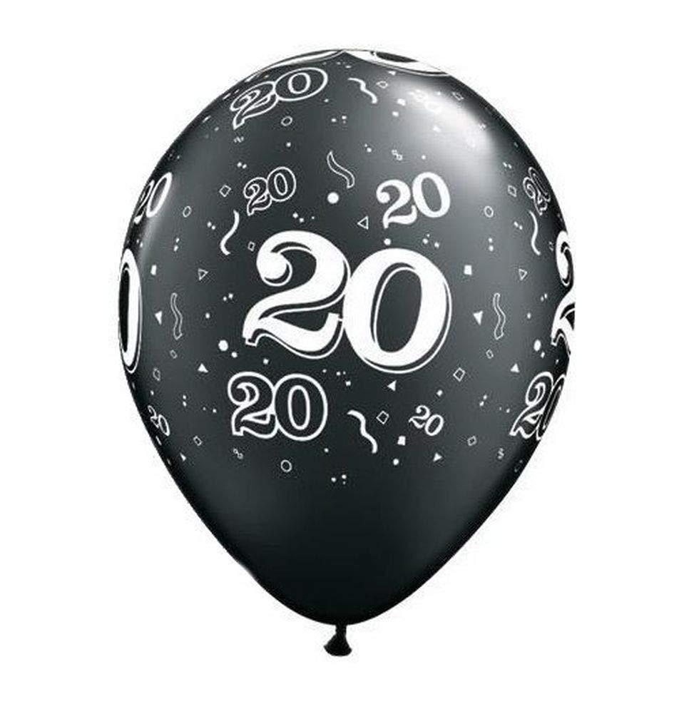 Nana s Party - Globos para fiesta de cumpleaños de 20 años ...