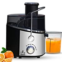 Inalsa Maxim Centrifugal Juicer-500 Watt with 60mm Wide Mouth & 2 Speed