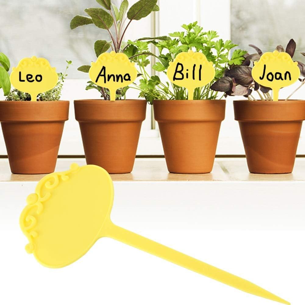 DEWIN Etiquetas de Plantas - Jardinería Etiqueta de vivero de ...