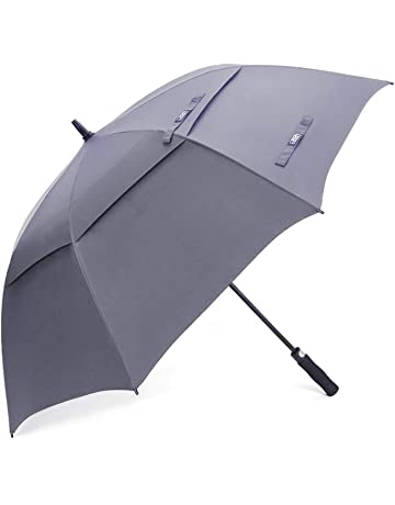 4a0e18c6f8a36 G4Free 54 62 Inch Automatic Open Golf Umbrella Extra Large Oversize Double  Canopy Vented Windproof