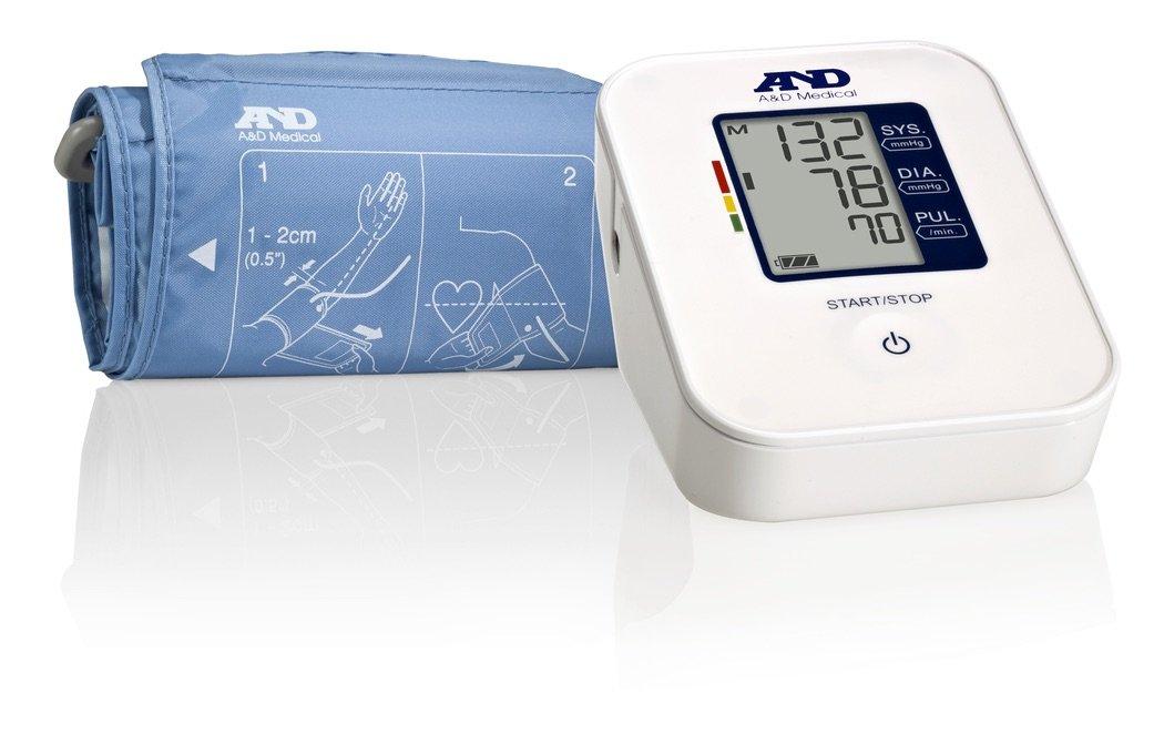 A&D Medical Easy Upper Arm Blood Pressure Monitor with Medium Cuff (UA-611)