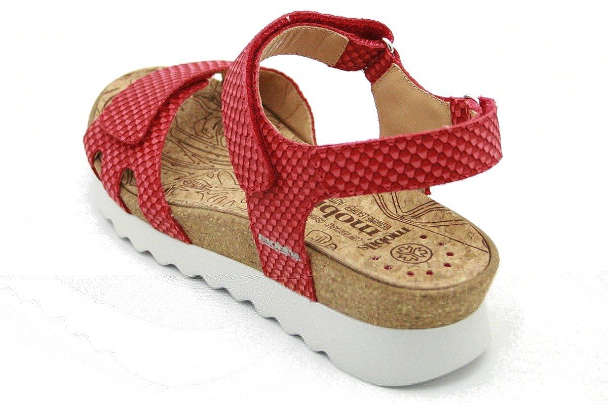 e597969e058 Mephisto Mobils by QUIRINA Sandales Femmes avec Velcro et Bouchon Amovible  Semelle  Amazon.fr  Chaussures et Sacs