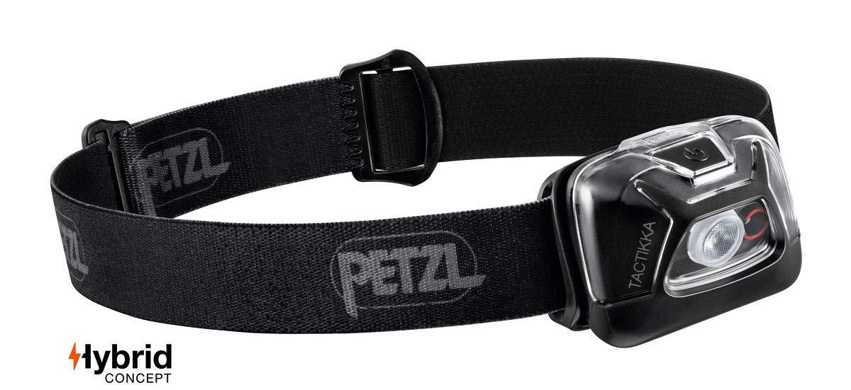 PETZL – TACTIKKA Headlamp, 300 lumens, Ultra-Compact Headlamp