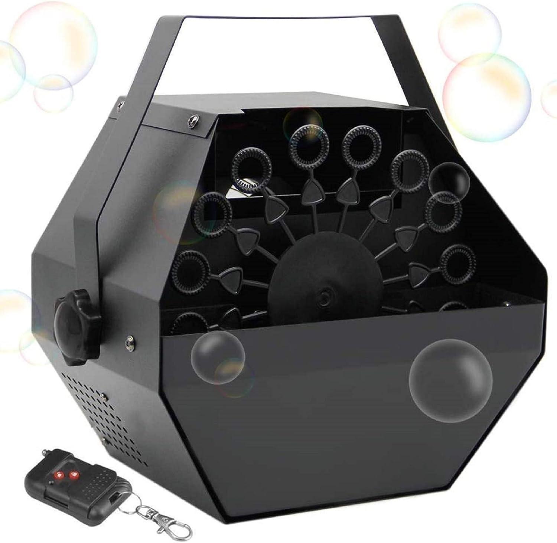 Brwoynn Metal Portable Bubbles Machine Wireless Remote Control ...