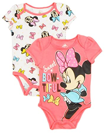 b1fcc4f950cd8 Image Unavailable. Image not available for. Color: Disney Newborn Infant  Girls Minnie Mouse ...