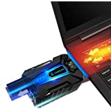 Tarkan USB Powered Portable Laptop Cooler with Adjustable Speed Vacuum Fan [Hot Air Extraction]