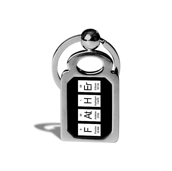 Amazon.com: padre Tabla Periódica Llavero – Ciencia Química ...