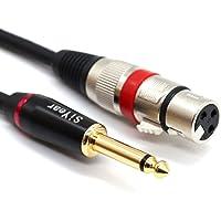 """Cable de micrófono SiYear 6,35 mm 1/4""""mono a"""